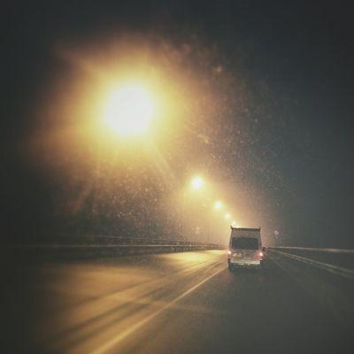 моеутро Road Lights Kaliningrad