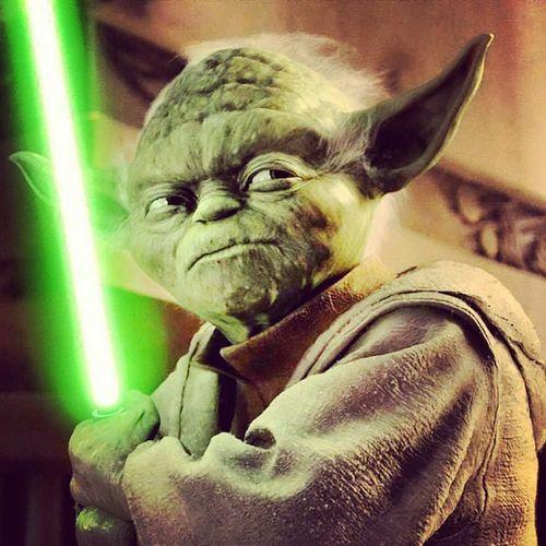Donne la force aux chiens d'la casse.. MAÎTRE YODA Jedi Starwars Maitreyoda Maitrejedi Force Booba Futur