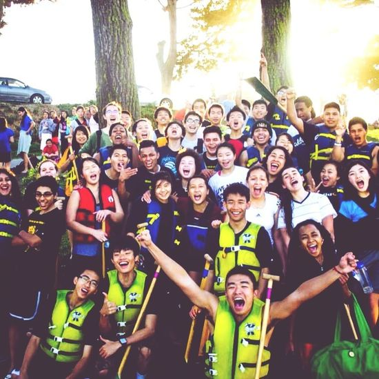 Where Do You Swarm? Lake Merced, CA. Mission High school Dragon Boat team Beautiful Day Lovely Weather