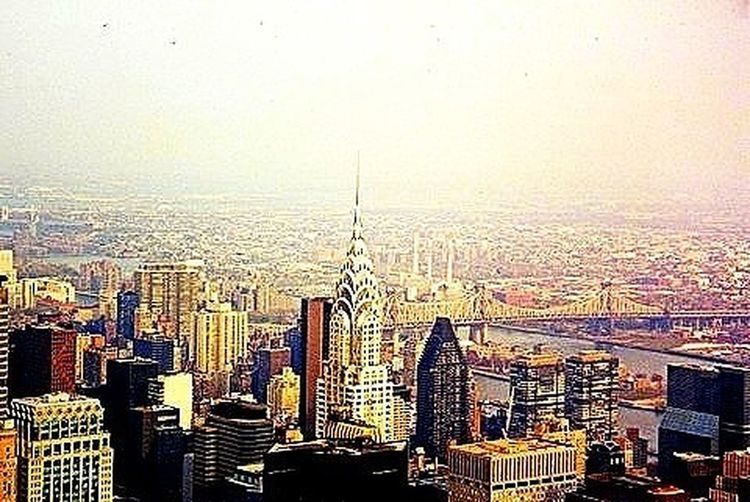 an old photograph of my home for so many years Newyork Manhattan Chrysler Building