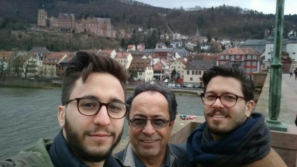 The Old Bridge Bridge Over Troubled Water Neckar Father And Sons