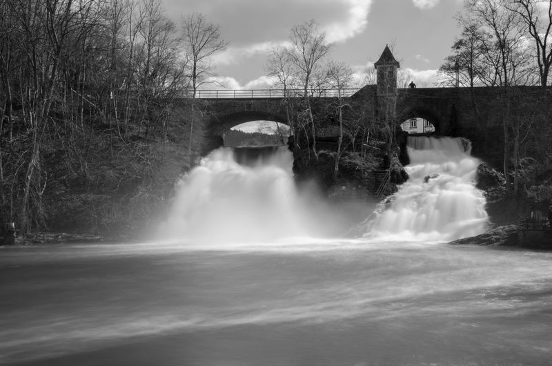 This photo is almost two years old. One of my first long exposures. Beauty In Nature Bridge - Man Made Structure Built Structure Cascade Coo Belgium Les Cascades De Coo Long Exposure Motion Nature Outdoors River Scenics Travel Travel Destinations Water Waterfall