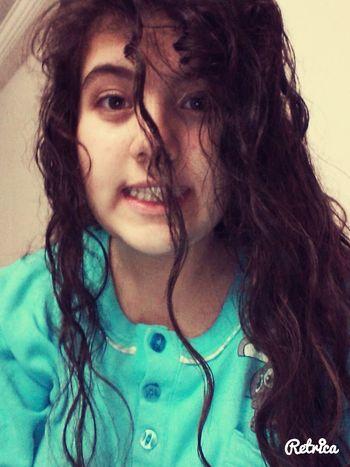 Sleep Time ıslak Sac selfiee