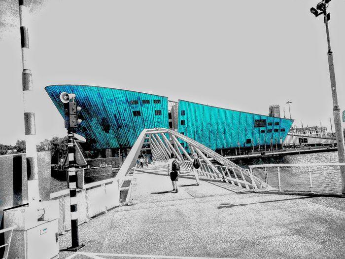 Nemo Museum Blackandwhite Technology Museum Amsterdam Streetphotography Amsterdam City Colour Your Horizn EyeEmNewHere