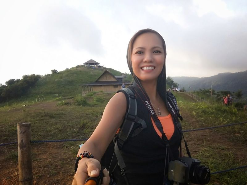 EyeEm Selects Only Women Smiling Cheerful Confidence  Kulotitay Clicks Real People at Treasure Mountain , Tanay, Rizal
