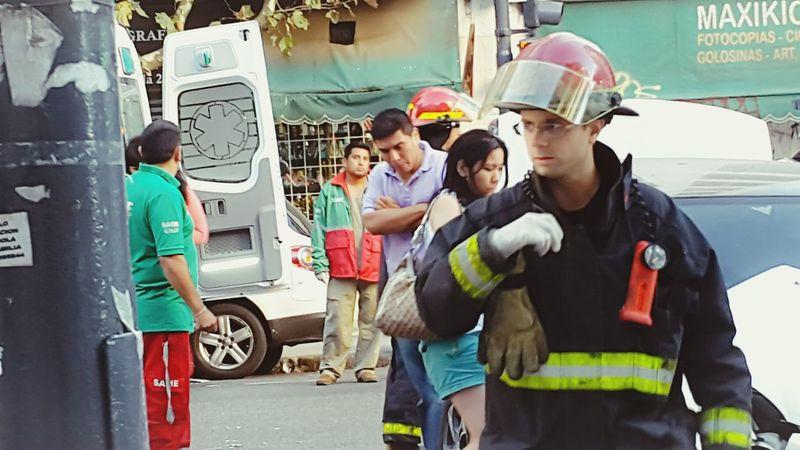 Argentina Firemanatwork Bomberos Bomberos En La Linea De Fuego Fireman Firemen Accident