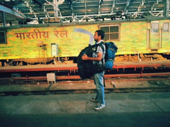 My Country In A Photo Eye Em A Traveller Indianrailways Serve You Better Backpacker