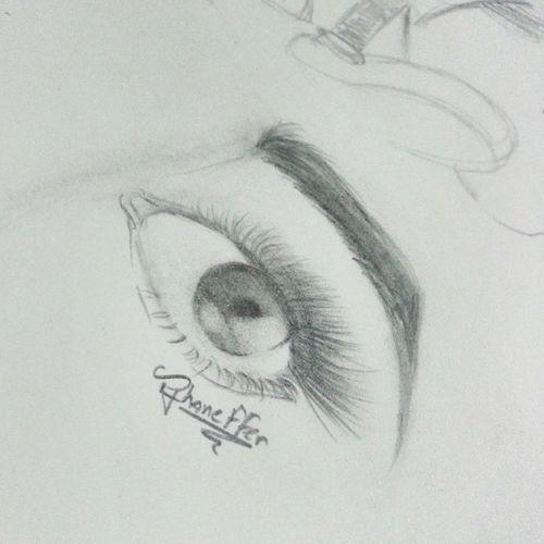Praticando... ✏ Draw Eye Desenho Olho
