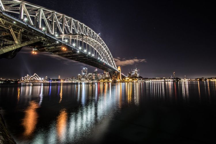 What a great view this night. 🌃 Architecture Australia CBD City City Life Cityscape Harbour Harbourbridge Night No People Nsw Operahouse Reflection River Skyline Stars Sydney Harbor Bridge Sydney Harbour Bridge Sydney Opera House Sydney, Australia Travel Destinations