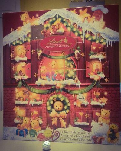 Advent Calendar Lindt Christmas Is Coming 1stdecember Thanksmom  Thanksdad Memories Missyougrandpa