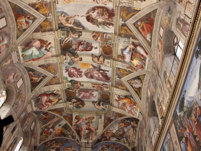 Sistine Chapel  Vatican Vatican Museum Chapel Fresco Michaelangelo Art Famous Place Famous Amazing Artphotography ArtWork Arts Culture And Entertainment Culture Magnificent Beautiful Beauty Art History Famous Places Amazing View