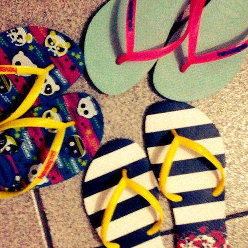 Voltei com o meu vício... *-* Addiction Havaianas Todomundousa Love sandálias