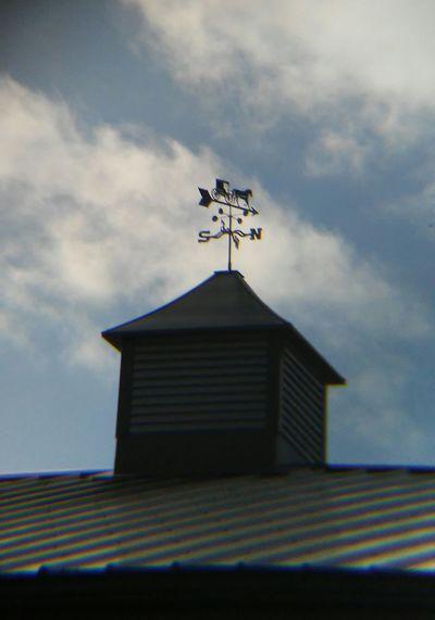 Cloud - Sky Weather Vane Outdoors Roof
