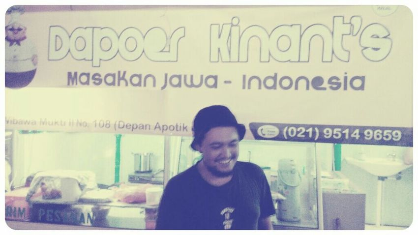 Congratulations Mr. Kinkin Restaurant Java Foods Black And White Everyday Lives