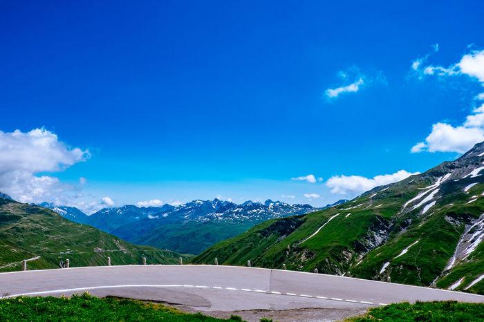 Alpen Alps Blue Sky Furkapass Mountains Schweiz Swiss Alps Switzerland