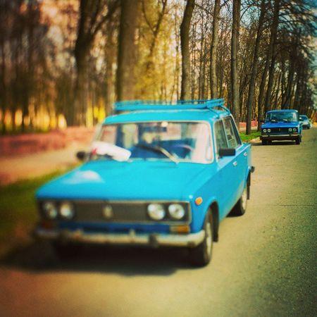 Близнецы Clone Auto Vaz 2106 retro retrocar blue mood instamood vtb