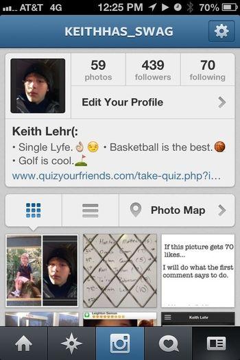 Follow Me On Instagram! @ Keithhas_swag