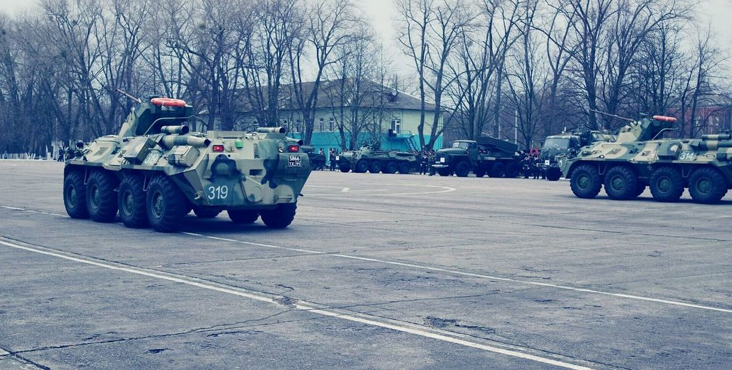 Outdoors Army Military Russia Military Parade Military Car