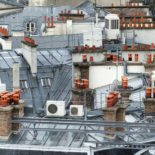 Sur Les Toits De Paris Over The Roofs Aerial View Paris Is For Lovers