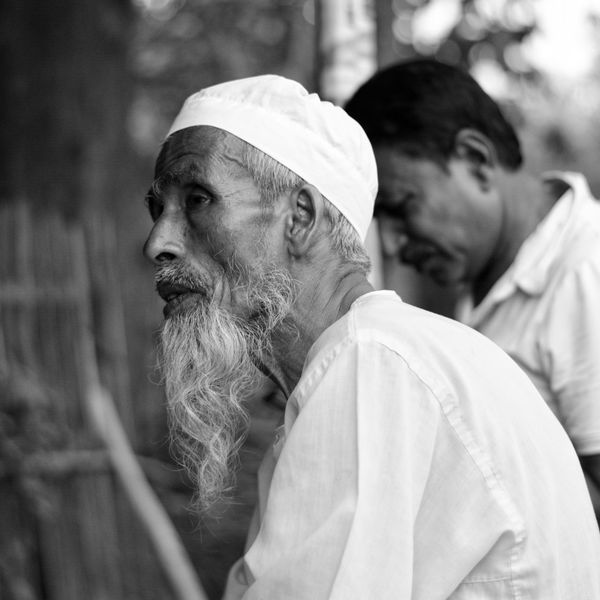 """""""Thoughts are the shadows of our feelings - always darker, emptier and simpler""""-Friedrich Nietzsche Bangladesh Beard Calm Close-up Day Focus On Foreground Human Hand Lifestyles Men Muslim Nature Oldman Outdoors Real People Senior Adult Senior Men Silence Spirituality Thoughtful Thoughts Togetherness Tree Two People First Eyeem Photo TCPM EyeEmNewHere Break The Mold"""