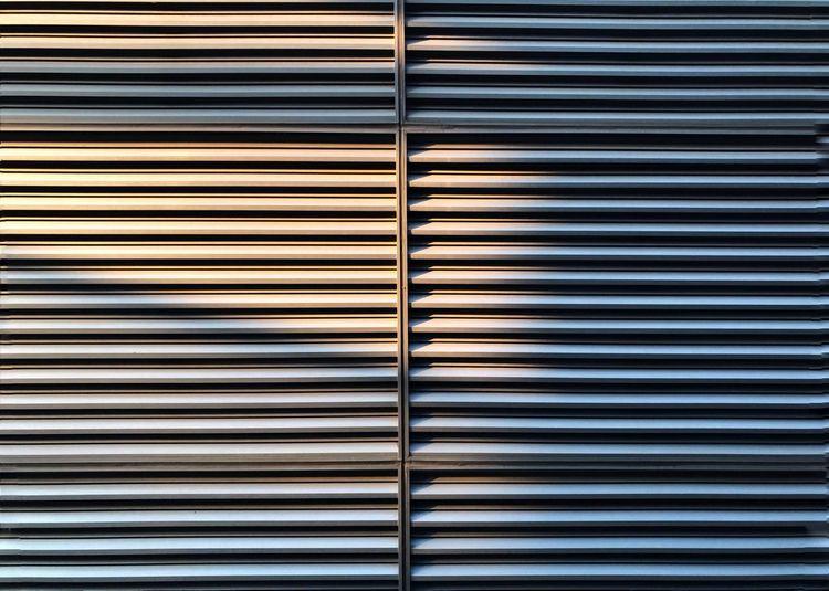 Full frame shot of window blinds