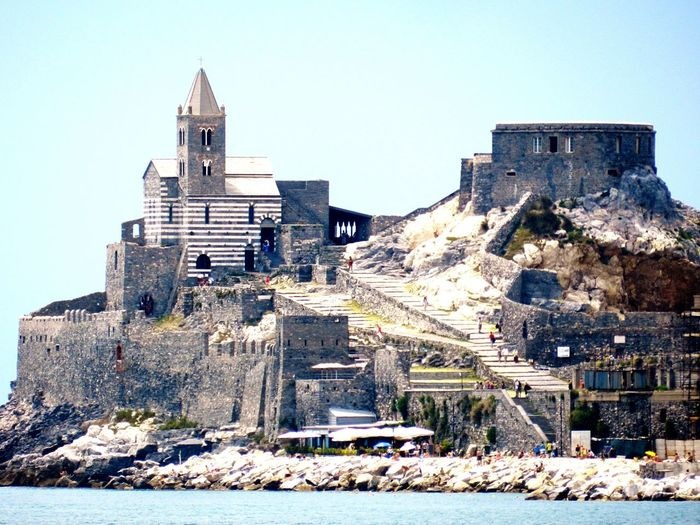 Portovenere EyeEmNewHere Portovenere Sea Italy Built Structure Architecture Building Exterior Building Sky Nature Day No People History Sunlight Travel Destinations Outdoors Clear Sky Religion Snow The Past Land Travel Winter