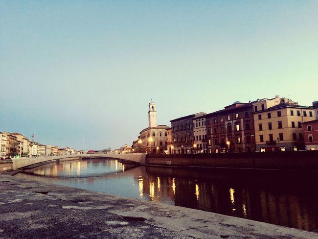 Lungarno Pisa, Italy