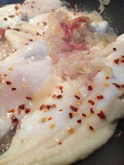 White seafood