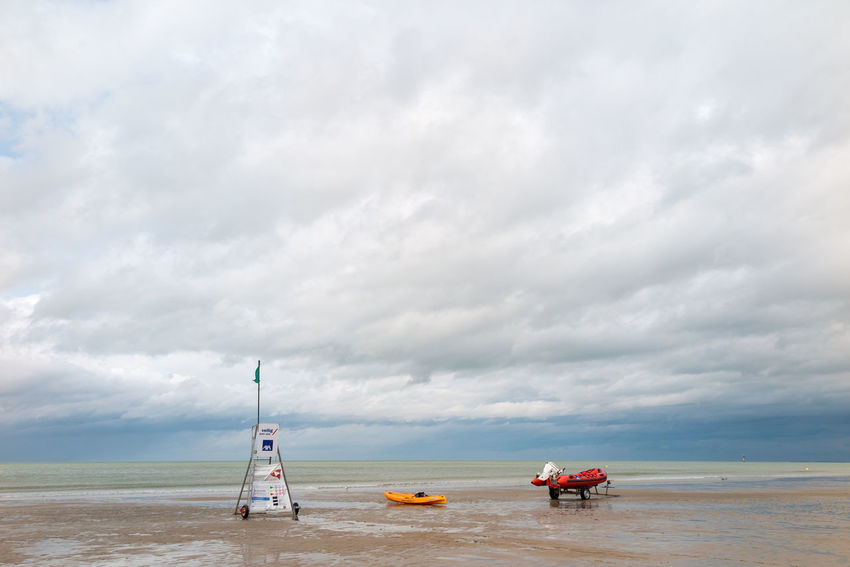 Beach Beauty In Nature Cloud - Sky Day Horizon Over Water Lifeguard  Nature North Sea Outdoors Sand Scenics Sea Sea And Sky Sky Tranquility Water Waves