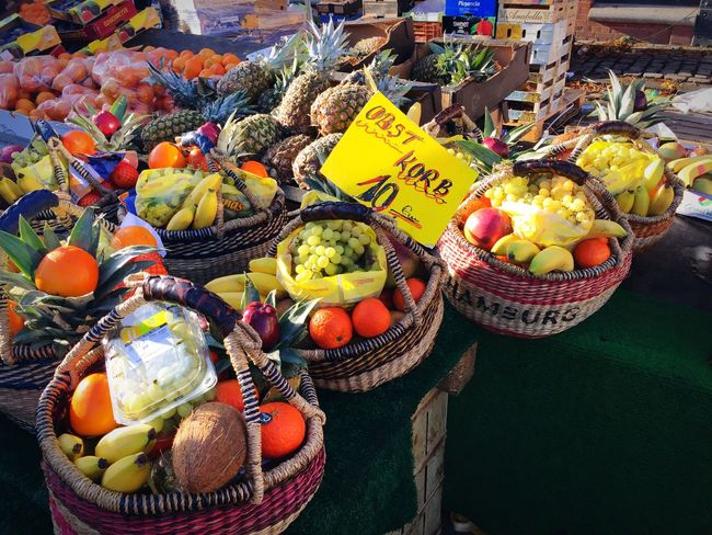 Rich and healthy fruits Healthy Lifestyle Autumn Fruits Food And Drink Still Life Food High Angle View For Sale No People Healthy Eating Market Large Group Of Objects Day Freshness Market Stall Autumn Mood