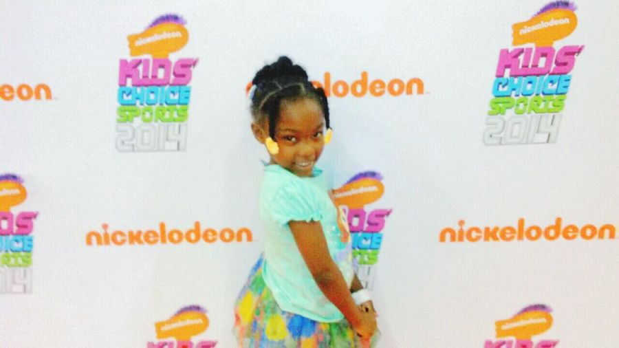 My daughter getting a early start of being a star. She was a star at birth. Taking Photos Daddyslittlegirls Nickelodeon Beauty be