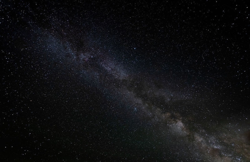 Low angle view of stars in sky