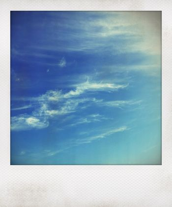 Cloud - Sky Sky Blue Nature No People Beauty In Nature Day Water Tranquility Outdoors Tranquil Scene Scenics - Nature Low Angle View Auto Post Production Filter Backgrounds Idyllic Turquoise Colored Copy Space Cloudscape Textured Effect