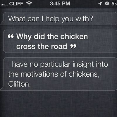 Siri is retarded lol