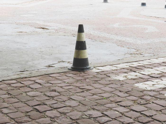 Shadow of cobblestone