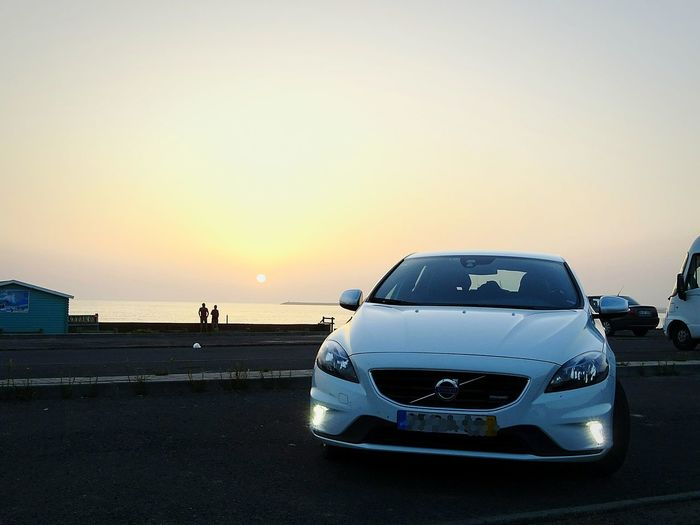 Car Sunset Travel Road Sky Volvo V40RDesign Alentejo-Portugal Seaside Summer Memories 🌄 EyeEmNewHere