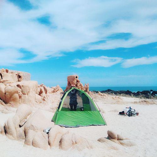 Sky Day Playa Paisaje Picsoftheday Traveling Sea Beach Eyeemphotography EyeEmBestPics Cielo Paisajes Cloud - Sky Travel Photography Landscape Sun Photo Foto Photography Camping Campinglife Instatravel Travelingram Viaje Aventura
