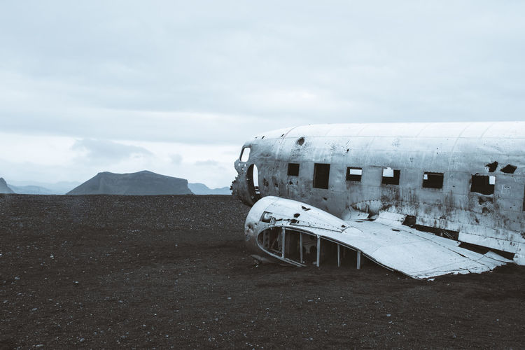 The dc-3 wreck in iceland