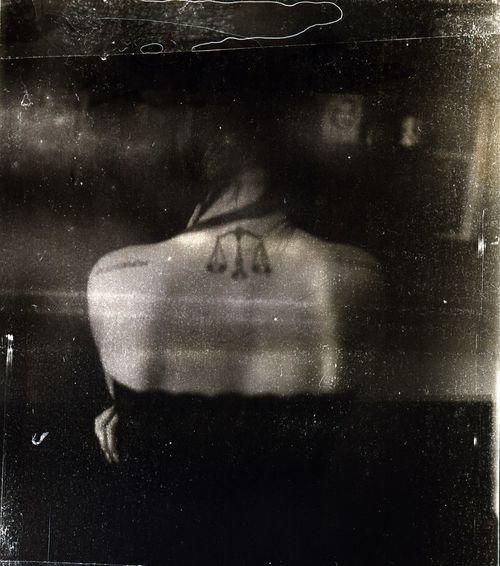 Caffenol Kicsigaboka Lomography Old Film Seagull Camera Tattoo
