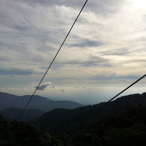 Goingdown Clouds Sky Cablecars Mountains Genting Malaysia Holidayfun