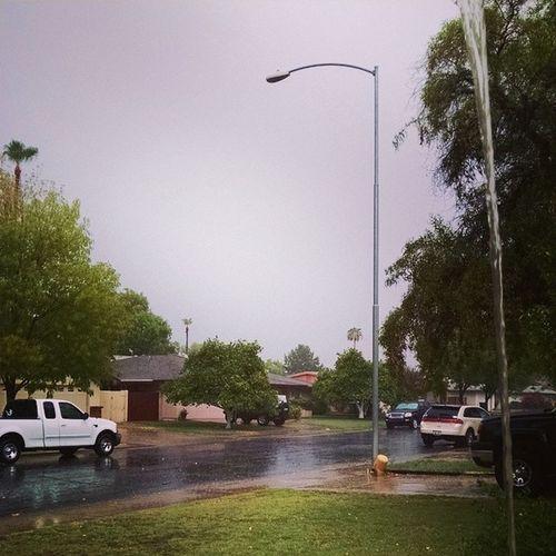 I love when it rains. Rain Monsoonseason Arizonia