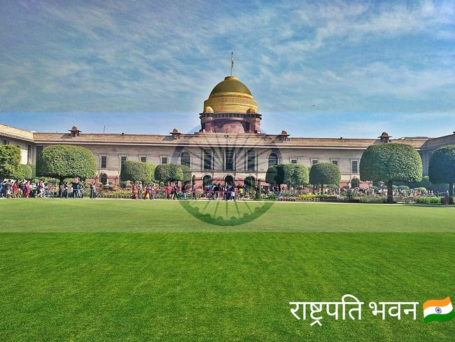 राष्ट्रपति भवन (President house) at Delhi Architecture Dome Grass Sky Outdoors Day Politics And Government No People The Photojournalist - 2017 EyeEm Awards The Architect - 2017 EyeEm Awards The Great Outdoors - 2017 EyeEm Awards EyeEmNewHere The Portraitist - 2017 EyeEm Awards Architecture Skyscraper Writing The Street Photographer - 2017 EyeEm Awards India Indian Indiapictures Indian Culture  Bharat India 🇮🇳 I Love My India♥ I Love My India