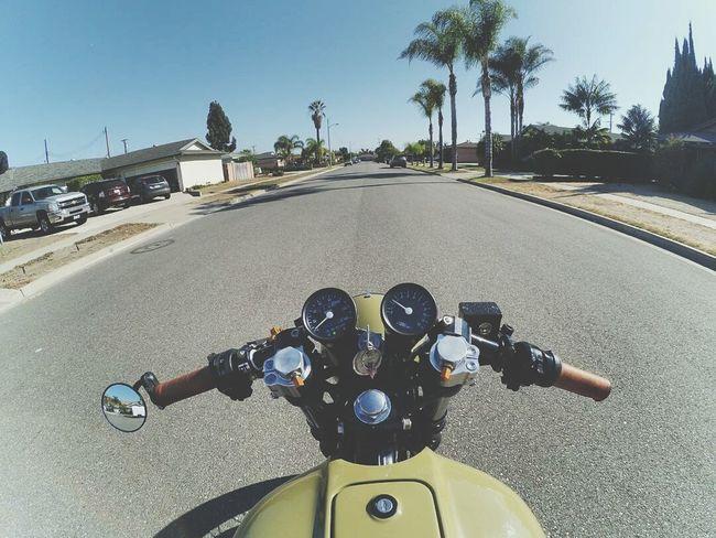 Motorcycle Transportation Lifestyles Bike Riding