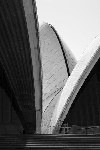 Tenebrous corners. Australia Australian Archi Opera House Sydney Sydney Harbour  Sydney Theatre Sydney, Australia