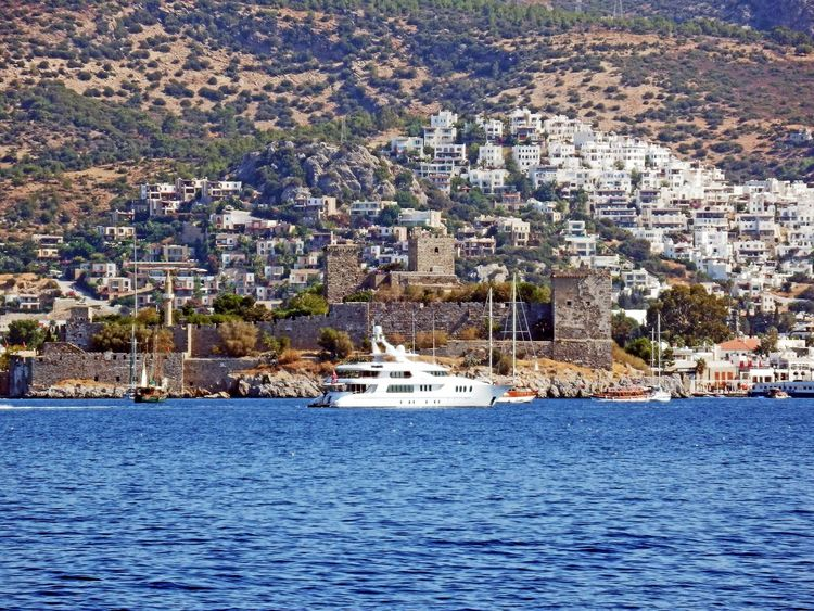 Remainder Bodrum Architecture Building Exterior Built Structure City Cityscape Day Harbor Nature Nautical Vessel No People Outdoors Sea The Turkey Beauty Travel Destinations Water Yacht Yachting