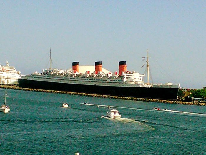 Queen Mary, Long Beach, CA Hanging Out Hello World Beachphotography Harbor Queen Mary Long Beach Southern California