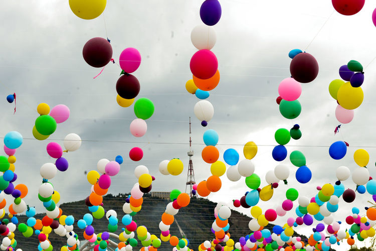 Balloon Celebration Colors DSLR Photography Georgia Multi Colored No People Tamar Mirianashvili Tbilisi Go Higher