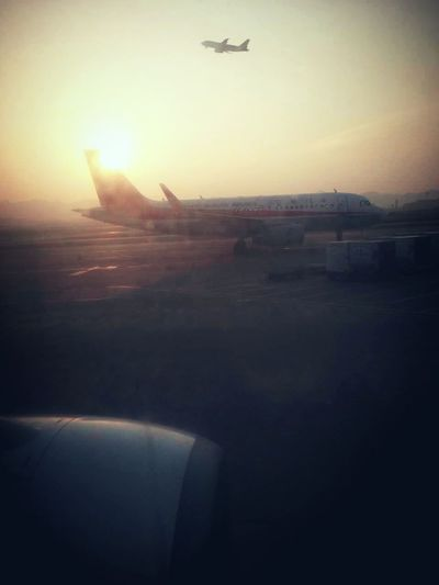On The Move Plane On Board Take Off Sunrise On The Road Eye Em Best Shots
