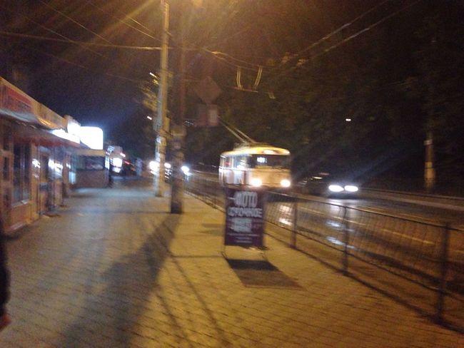 Ночной Симферополь