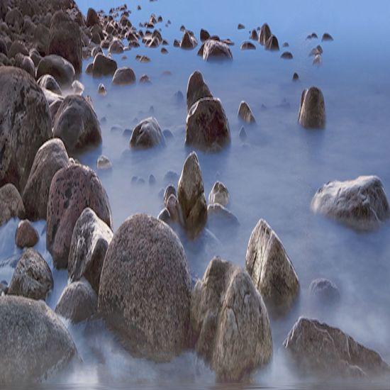 The Great Outdoors - 2016 EyeEm Awards Fine Art Photography Rocks Rocks In Water Rockscape Misty Shore